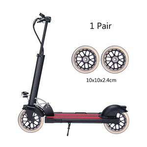 1 Pair Scooter Wheels Multifunctional Durable Practical Replacement Wheels for Baby Swing Car Suitcase Luggage