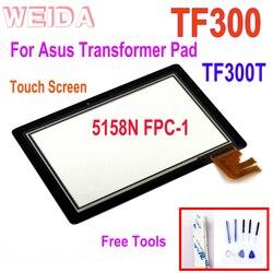 """10.1 """"dotykowy ekran dla asusa Transformer Pad TF300 TF300T 5158N FPC 1 dotykowy digitizer szklany panel dotykowy wymiana części w Ekrany LCD i panele do tabletów od Komputer i biuro na"""