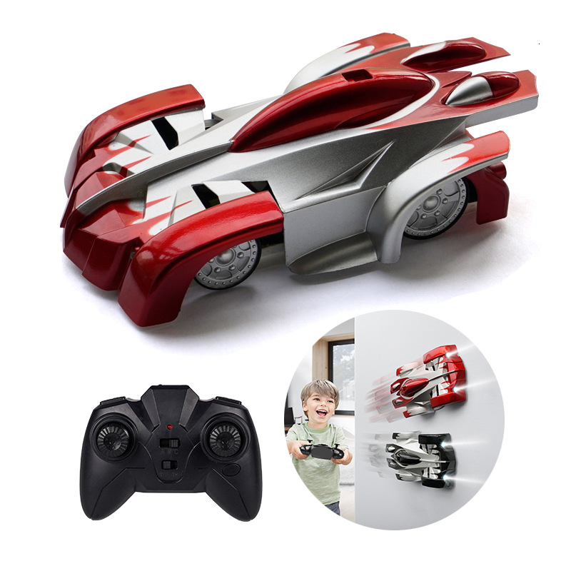 Mini RC Car Scale Pair 360 Rotat Dual Electric Car Remote Control Toys Controlled By Radio Auto Machine Pilot Antigravity Wall
