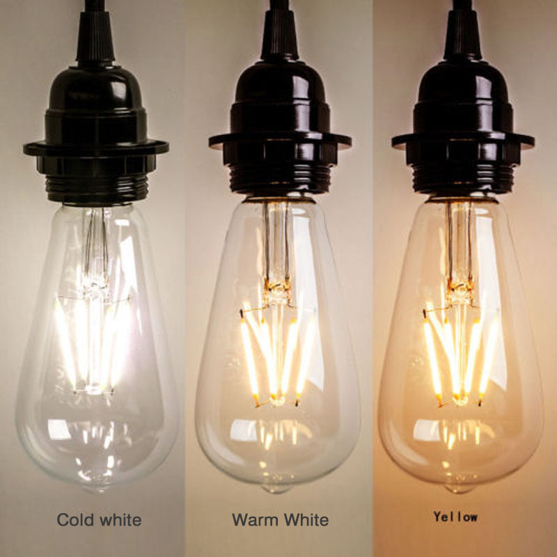 LED Bulb E27 220V 2W 4W 6W 8W LED Glass Bulb Retro Vintage Led Filament Incandescent Ampoule Bulbs