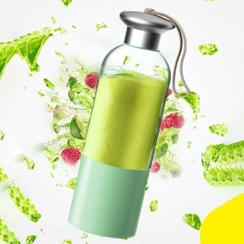 XMX-Portable Electric Juicer Blender Usb Mini Fruit Mixers Juicers Multifunction Juice Maker Machine