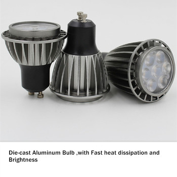 [DBF]Angle Adjustable LED Surface Mounted Downlight 5W/7W Black/White Housing+Replaceable GU10 Bulb LED Ceiling Spot Light Decor 2