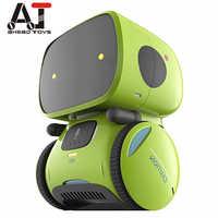 Новейший тип, умные роботы, танцевальная Голосовая команда, 3 варианта языков, сенсорное управление, игрушки, интерактивный робот, милая игр...