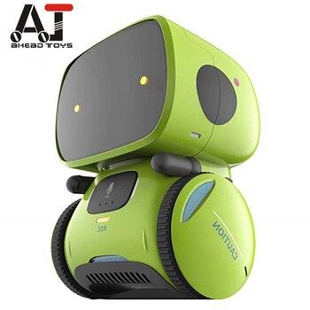 Robots inteligentes de baile tipo más nuevo con 3 idiomas, Control táctil, juguetes interactivos, regalos para niños