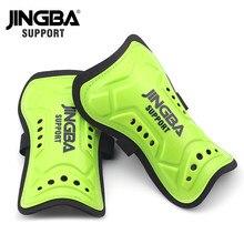 Jingba apoio adultos criança treinamento de futebol anti-colisão shin guardas pads futebol perna protetora proteger tibia futebol adultes