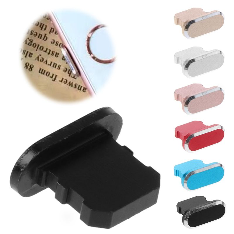 Dust Plug Stopper USB Charging Port Dustproof Cover Protector Metal for Apple iPhone 8 X XR Xmax Smart Phone Accessories