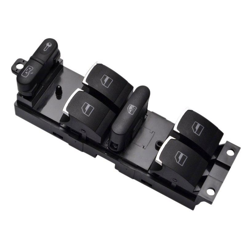 Master Power Window Control Switch Button For V-W 99-04 G Ti Golf 4 Je Tta Mk4 Bora Beetle Passat B5 B5.5 3Bd 959 857