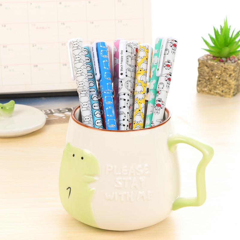 10-Pcs-Lot-Color-Pen-Gel-Pens-Kawaii-Pen-Boligrafos-Kawaii-Canetas-Escolar-Cute-Korean-Stationery (4)