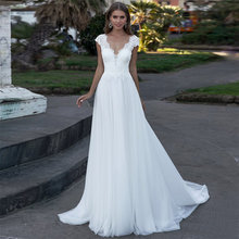 Простое богемный свадебное платье 2020 пляжная обувь под для