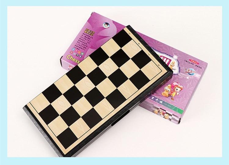 conjunto de xadrez plástico para amigos crianças