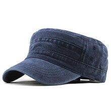 Cap Hat Fashion Soldier Unisex Cotton 4-Color Visor Outdoor Wholesale Hot Casual Casual