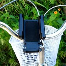 цена на Bicycle Bike Smart Phone Holder Bike Handlebar Grip Mount Clip Mobile Phone Holder Stand Bracket for iphone Bicycle Holder
