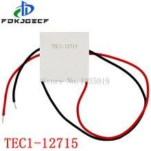 1 TEC1 12715 TEC 12715 W 136.8 V-15.4V 15A 12 TEC Thermoelectric Cooler Peltier (TEC1-12715)