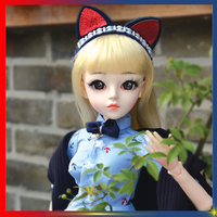 BJD Doll 1/3 Anime Modern Fashion Girl Toys 60 cm High Dolls Full Clothes Set For Girls Collection Surprise Birthday Best Gifts