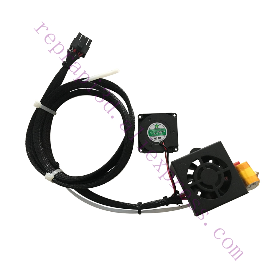 Creality Upgrade 24V 40W MK8 Hot End Kit with Capricorn Premium Tubing for Ender 3// Ender 3 Pro 3D Printer