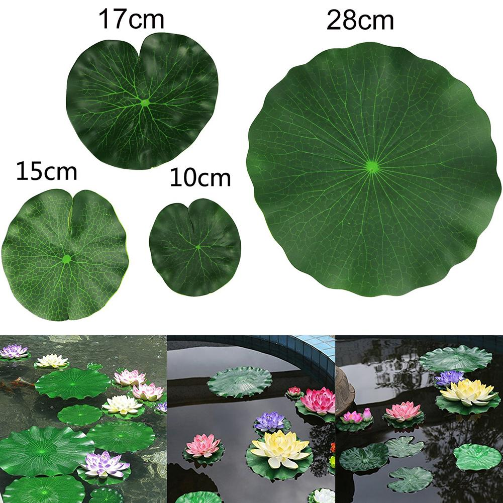 2pcs Artificial Floating Lotus Leaves