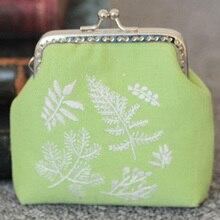 Женский подарок Сделай Сам набор сумочек для вышивки маленький китайский стиль рукоделие винтажный цветок дерево ручной работы вышивка крестиком материалы для шитья