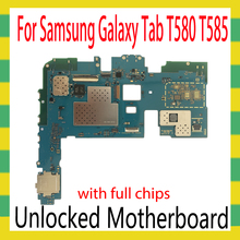 Placa base para Samsung Galaxy Tab A 10,1 T580 T585, WIFI/WLAN, versión T585, compatible con WIFI + SIM, sistema operativo Android