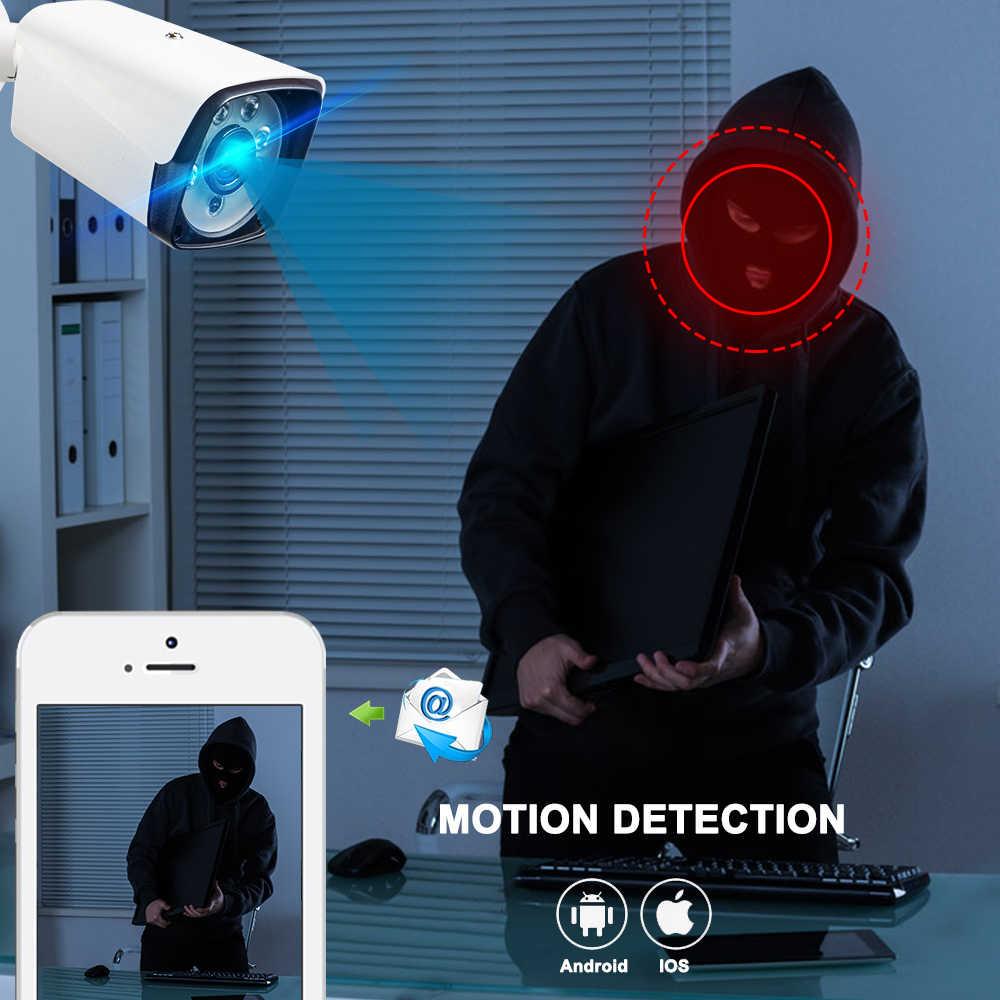 4CH Беспроводная система видеонаблюдения 1080P NVR комплект 4 шт. 2MP NVR IP IR-CUT наружная камера видеонаблюдения IP Видеонаблюдение