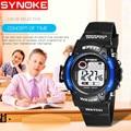 Светящиеся водонепроницаемые многофункциональные студенческие электронные часы спортивные для девочек вечерние милые Наручные детские ч...