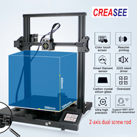 Creasee CS30 3D Printer Printing Aluminium Frame DIY Kit Large Size 300x300x400 Magnetic Build Plate Professional 3 D Print