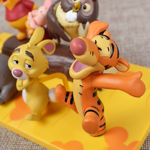 Image 3 - 7pcs Disney toy Winnie the Pooh Tigger Jouet doll PVC action figures collect model toys Christmas birthday gift for kid 14DX