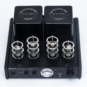 2019 Новый NE-10S, включающим в себя гарнитуру блютус и флеш-накопитель USB 3,5 наушники Вход 110V 220V 50W 2-х канальный HiFi без потерь ламповый усилитель
