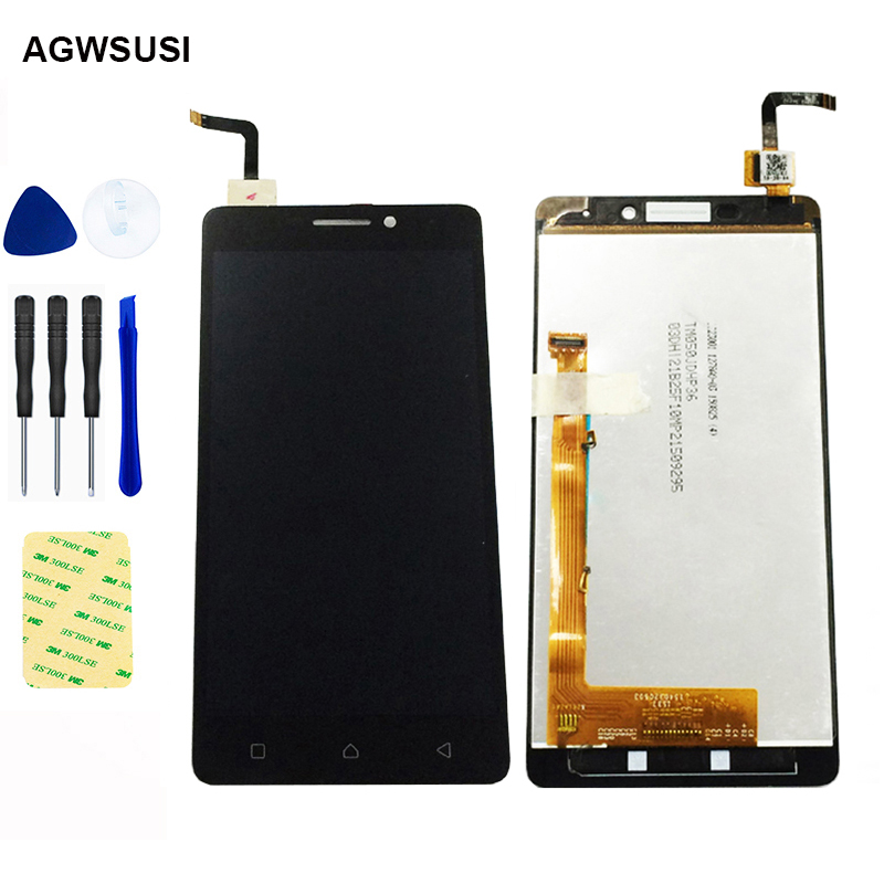 For Lenovo VIBE P1m <font><b>P1ma40</b></font> P1mc50 TD-LTE LCD Display Screen Monitor Module + Touch Screen Digitizer Sensor Panel Glass Assembly image