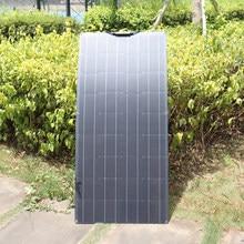 Panel solar flexible 300W 12v placa solar placas solares kit sistema célula solar flexible 12V / 24V cargador batería monocristalino para casa RV coche barco camping 1000W fotovoltaico impermeable