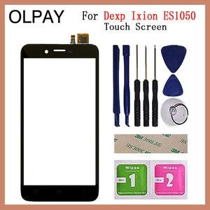 Image 5 - Téléphone portable 5.0 pouces écran tactile pour Dexp Ixion ES1050 écran tactile verre numériseur panneau lentille capteur verre pièces de réparation