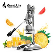 WantJoin Stainless Steel press juicer Lemon Oranges queezer Commercial Pomegranate Fruit Juice Extractor Press juicer maker home