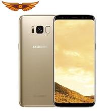 Original Samsung Galaxy S8 SM-G950U 5,8 Zoll 4GB RAM 64GB ROM 4G LTE handy einzelne SIM 12MP 3000mAh S-serie Smartphone