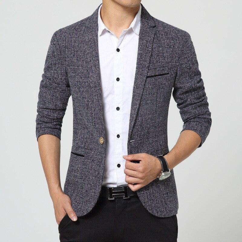MEN'S Casual Suit Korean-style Slim Fit Men Suit Men's Knitted Suit MEN'S Coat