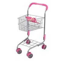 Children Metal Toy Kids Pretend Play Role Kitchen Supplies Cooking Shopping Cart Toys Educational For Children Gift