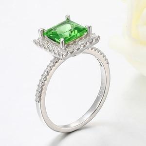Image 3 - Kuololit Diaspore Sultaniteเปลี่ยนสีแหวนอัญมณีสำหรับสตรี 925 เงินสเตอร์ลิงแหวนหมั้นของขวัญเครื่องประดับFine