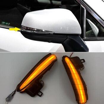 For Toyota RAV4 XA50 2018 2019 2020 Dynamic Turn Signal LED Side Rearview Mirror Indicator Blinker Repeater Light