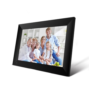 "EU/US P100 WiFi Digital Picture Frame 10.1"" 16GB Smart Electronics Photo Frame APP Control Touch Screen 800x1280 IPS LCD Panel"