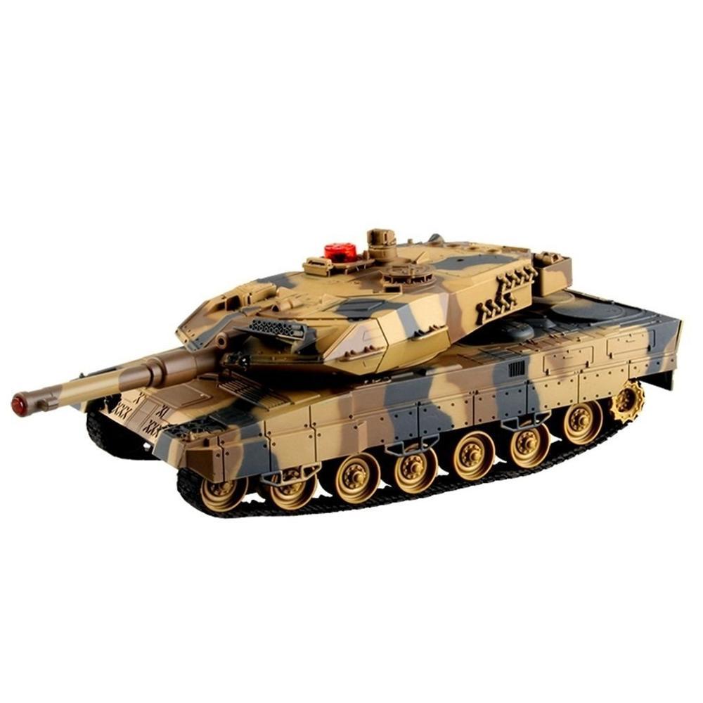 RC jouets tir BB balles ensemble de réservoir RC voiture militaire télécommande modèle jouet cadeau véhicule avec 360 rotation indicateur de vie