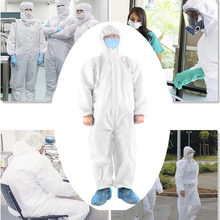 Protective Clothing Isolation Gown No Biohazard Disposable Anti-Fog Anti-Static Dustproof Antiviral Workwear Protective Coverall