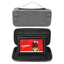 Nintendo Switch защитная сумка защитный чехол NS Storgage сумка игровой хост портативная коробка для хранения ударопрочный пылезащитный