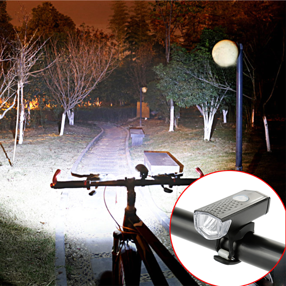 Image 4 - Bike Cycling Lights LED Bicycle Front Head light+Tail light Set MTB Bike Rear Lights Cycling Lamp Flashlight Bicycle accessories-in Bicycle Light from Sports & Entertainment
