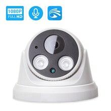 Wi Fi камера Hamrolte Yoosee HD 1080P, внутренняя Проводная Беспроводная IP камера Onvif с внутренним микрофоном и датчиком движения со слотом для SD карты