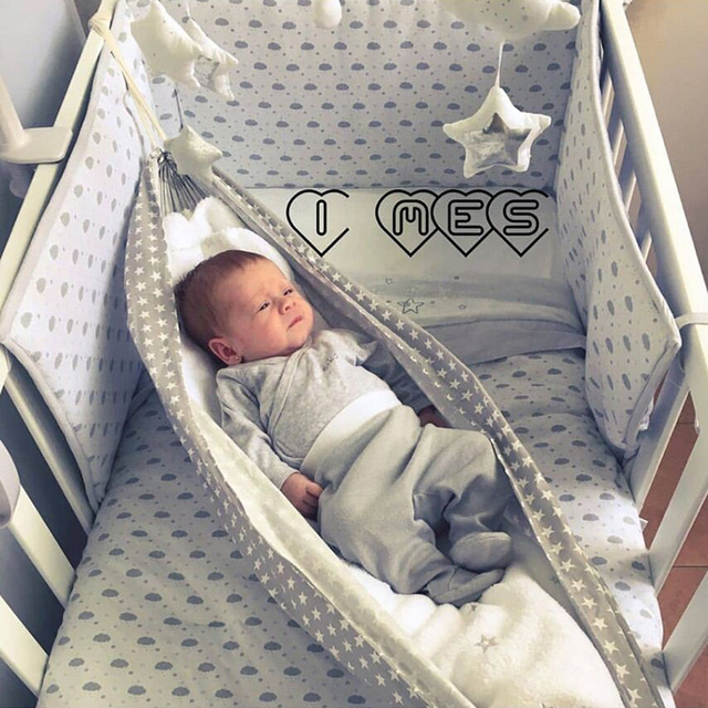 Baby Cribs Hanging Hammock Detachable Portable Folding Indoor Room Outdoor Swing Safety Infant Sleeping Bed Kids Funny Swing 4