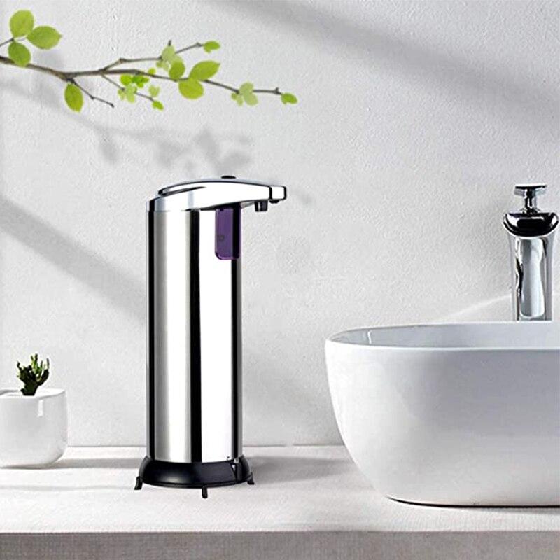 250 мл автоматический дозатор жидкого мыла умный датчик бесконтактный ABS гальванический дезинфицирующее средство Диспенсер для кухни ванной комнаты|automatic sensor soap dispenser|sensor soap dispensersoap dispenser | АлиЭкспресс