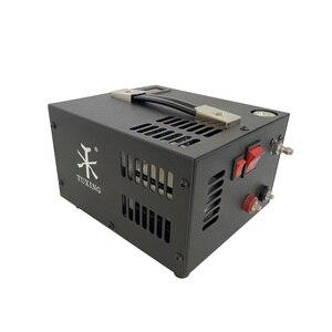 Image 4 - Compresseur dair portable pcp, avec transformateur pour armes à air comprimé, 12V/220V