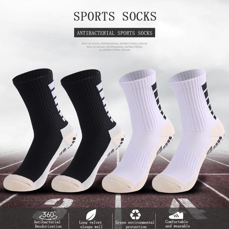 High Quality Brand New Anti-Slip Football Soccer Socks Cotton Absorb Sweat Training Sports Socks