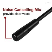 microfone sobre a orelha usb fones de