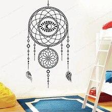 Dream bedroom wall decal  catcher home wall sticker vinyl removable wall art mural JH72 вампирология истинная история падших