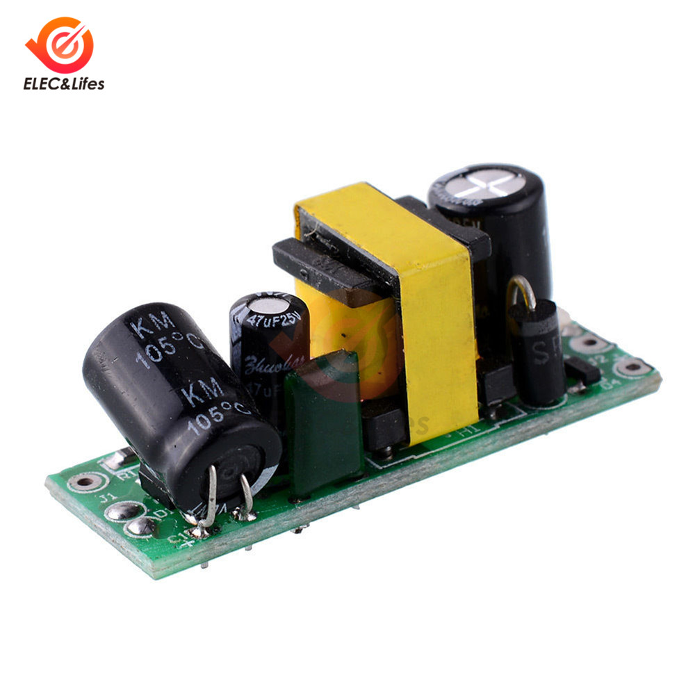 DC <font><b>12V</b></font> 400mA AC-DC Power Supply Isolation Board Buck Converter Step Down Module <font><b>Adaptor</b></font> Temperature Short Circuit Protection image