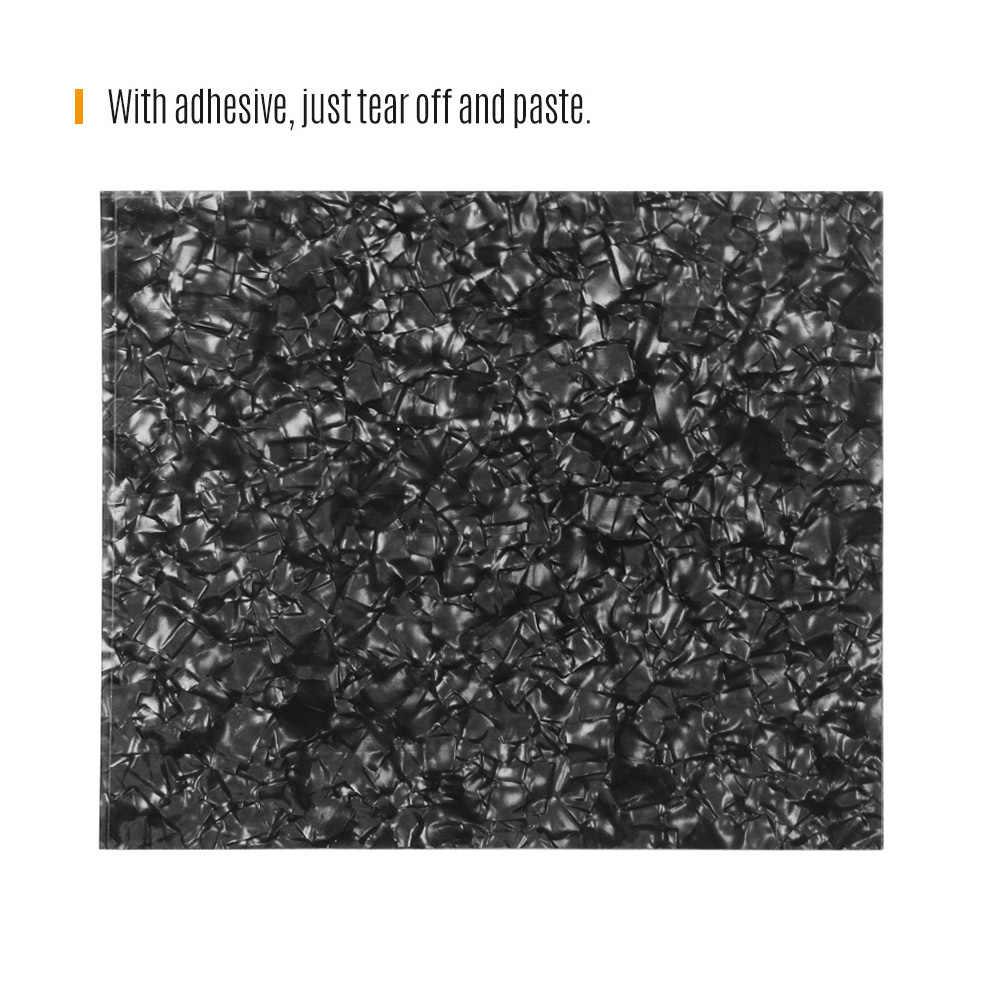 1 шт. пустой лист для изготовления защитной накладки материал царапины Пластина для акустических гитар DIY Пользовательские гитара из ПВХ аксессуары